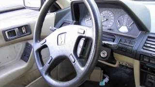1989 Honda Accord Coupe w/ 249k Miles, Start Up, Engine, and In Depth Tour