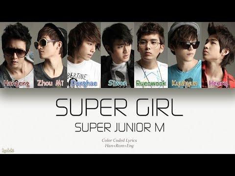 Download Super Junior-M 슈퍼주니어-M – SUPER GIRL Korean Ver. Color Coded s Han/Rom/Eng Mp4 baru