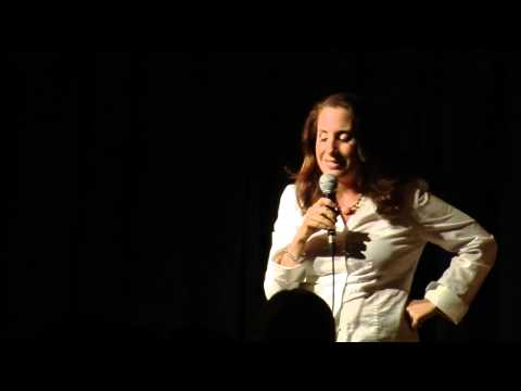 Victoria Arnstein Stand Up Comedy Spa Ha ha Broadway Comedy club in NYC Girls night out