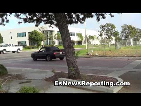 MIKEY GARCIA TEST DRIVES HIS NEW CAR EsNews BOXING