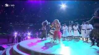 Waka Waka - Shakira [HD] World Cup closing ceremony live performance