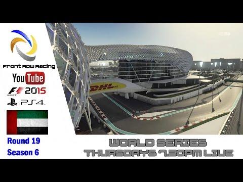 Front Row Racing World Series Abu Dhabi round 19 season 6 part 3