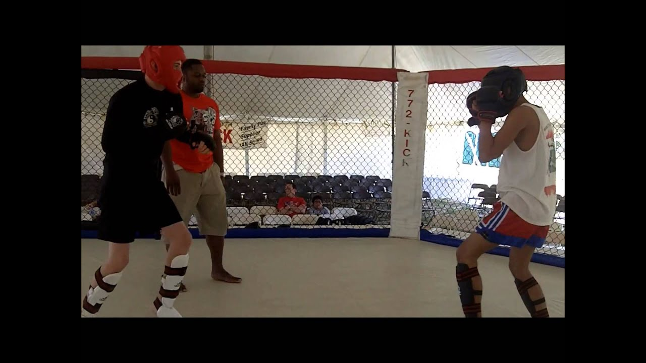 Muay Thai Sparring Knockout Muay Thai Sparring