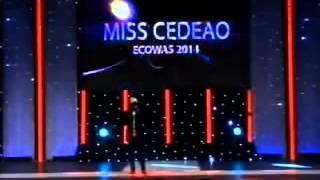 Prestation de Le Magnifique a Miss Cedeao le 14 decembre 2013