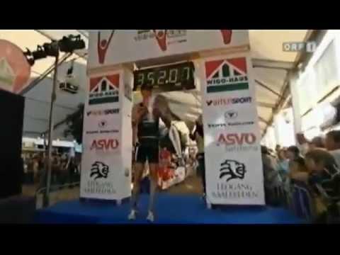 Manuel Wyss gewinnt die Trimotion Saalfelden 2009
