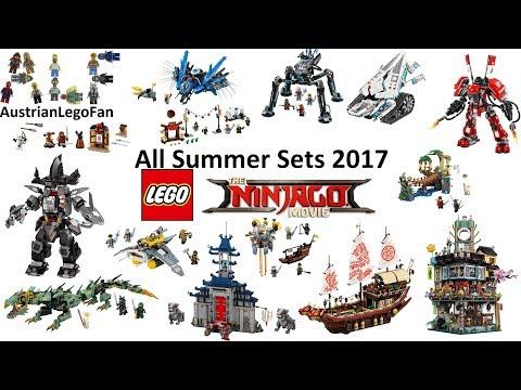 All Lego Ninjago Movie Summer Sets 2017 Compilation Lego Speed