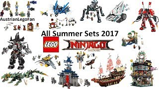 All Lego Ninjago Movie Summer Sets 2017 Compilation - Lego Speed Build Review