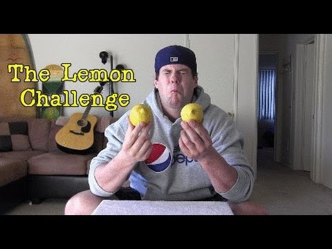 L.A. BEAST EATS 2 WHOLE LEMONS(WARNING- EXTREME SOUR FACE)