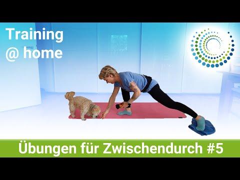 Übungen für Zwischendurch #5 | Wohnzimmer-Training für jeden | Training @ home #MitMir
