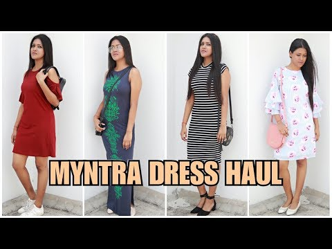 MYNTRA SUMMER DRESS HAUL | Try On Myntra Haul