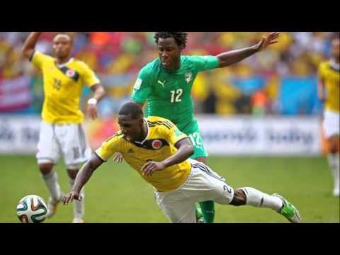 colombia vs ivory coast 2014 highlights and goals colombia 2-1 ivory coast fifa world cup