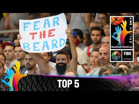 Top 5 Plays - 2 September - 2014 FIBA Basketball World Cup
