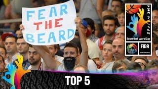 Top 5 Plays - 2 September - 2014 FIBA Basketball World Cup