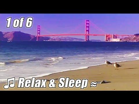 RELAX & SLEEP #1 Relaxing music SAN FRANCISCO soothing slow Jazz sleeping songs instrumental ocean