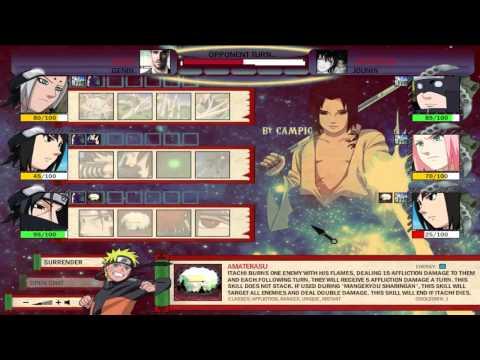 Naruto Arena: Jeoji Vs -xxxxxxx- video