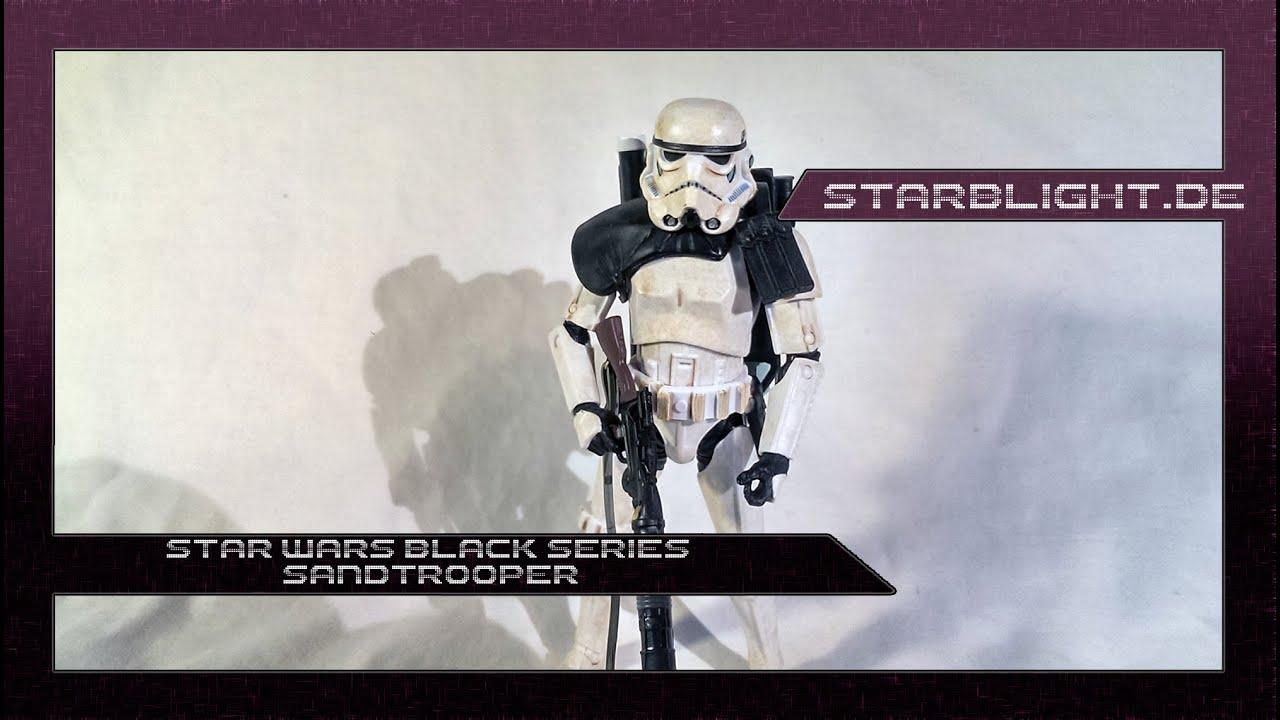 The Black Stars Star Wars Black Series 6 Inch