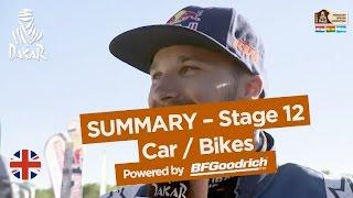 Stage 12 Summary - Car/Bike - (Río Cuarto / Buenos Aires) - Dakar 2017