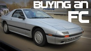 Buying a 1986 Mazda Rx7 With Backseats!