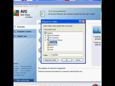 Manually Update AVG Free Anti Virus