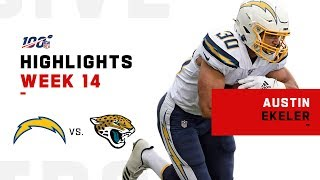 Austin Ekeler POPS OFF for 213 Total Yds & 1 TD | NFL 2019 Highlights