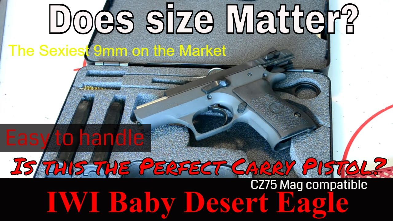 Baby 9mm Blued Desert Eagle Baby Desert Eagle ii 9mm