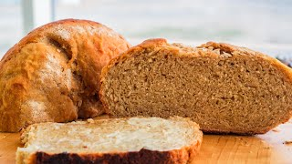 Honey Oat Wheat Bread Recipe Without Oven | No Oven Bread Recipe | Bread Baking In Kadai | Bread