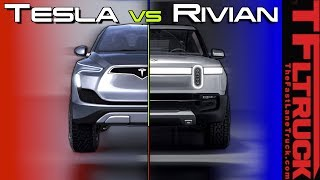 Tesla Pickup Truck vs Rivian vs EV Ford F-150 - Here's Everything You Need to Know!