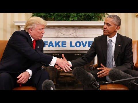 """Obama sings """"Fake Love"""" by Drake ft. 21 Savage"""