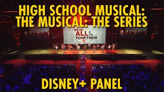 High School Musical: The Musical: The Series Disney+ Panel & Interviews | D23 Expo 2019