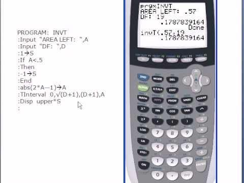Programming invt into a ti 83 or ti 83 calculator youtube for Ti 85 table of values