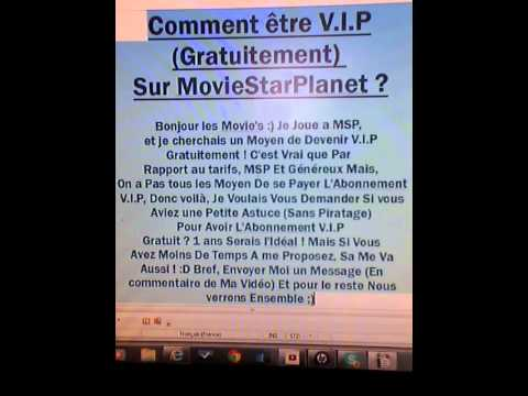 photo comment devenir vip sur msp sans payer
