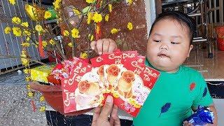 Trò Chơi Bé Trang Trí Cây Mai Tết ❤ ChiChi ToysReview TV ❤ Đồ Chơi Trẻ Em