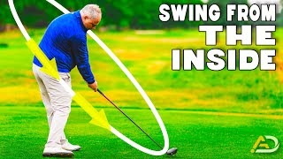 Golf - Hit The Driver From The Inside Every Time