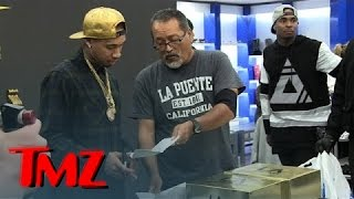 Video Tyga -- Sneaker Release Party