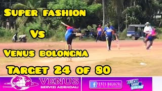 Venus bolongna vs super fashion Full Highlights 06/02/2021