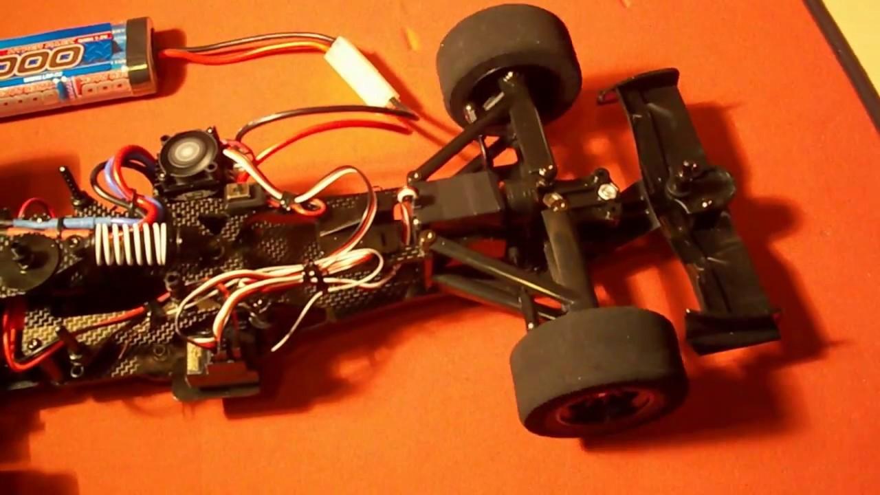 Tamiya F104 Setup Tamiya F104 Pro Motor