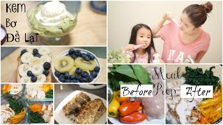 Cuối Tuần Làm Kem Bơ Đà Lạt ✿ Meal Prep ✿ Chuẩn Bị Thực Đơn Eat Clean    mattalehang