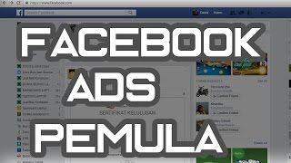 cara memasang iklan di facebook / tutorial facebook ads pemula