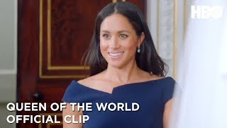 Meghan Markle's Wedding Dress | Queen of the World | HBO