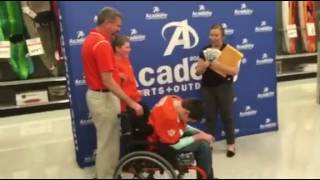TigerNet.com - Clemson fan with cerebral palsy surprised with tickets to national championship