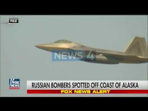ВВС США перехватили два российских бомбардировщика у берегов Аляски