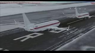 Microsoft Flight Simulator X  Online полет по сети