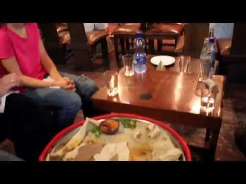 Ethiopian Cultural Restaurant In Addis Ababa, Ethiopia video