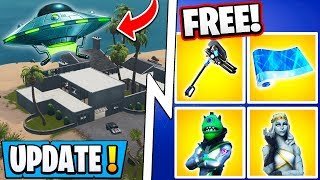 *NEW* Fortnite 10.31 Update! | 4 Free Items Now, S11 Event Explained, Map Change!