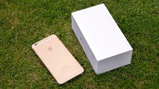 iPhone 6 Plus: распаковка и первое впечатление