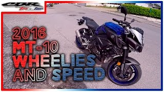 ✔ Test Drive - Yamaha MT-10 || Top Speed & Wheelies ||