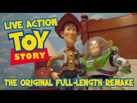 Live Action Toy Story video