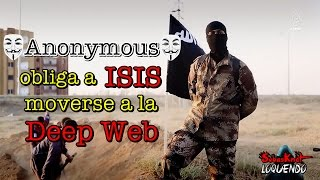 Anonymous obliga a ISIS moverse a la Deep Web