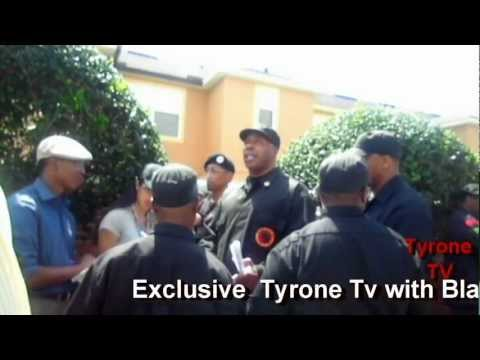 POLICE vs BLACK PANTHERS,TRAYVON MARTIN,SANFORD FL