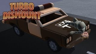 I CRASHED A POLICE CAR! Turbo Dismount | Steam Game